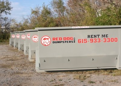 Roll-off Dumpsters Ready for Delivery