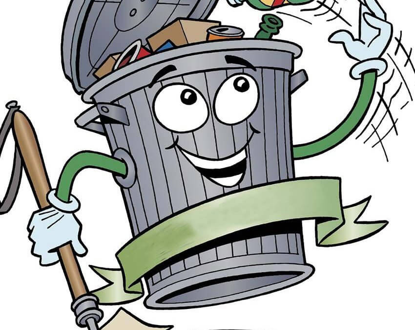 Garbage can man