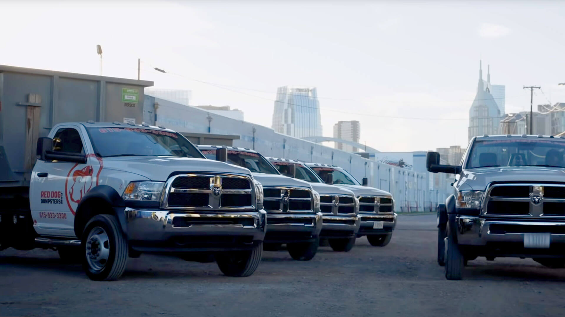 Residential Dumpsters Delivery Trucks Nashville TN